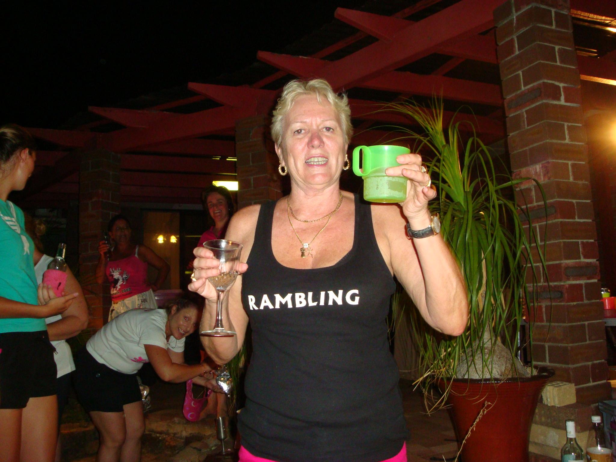 Rambling's Run according to Freebie