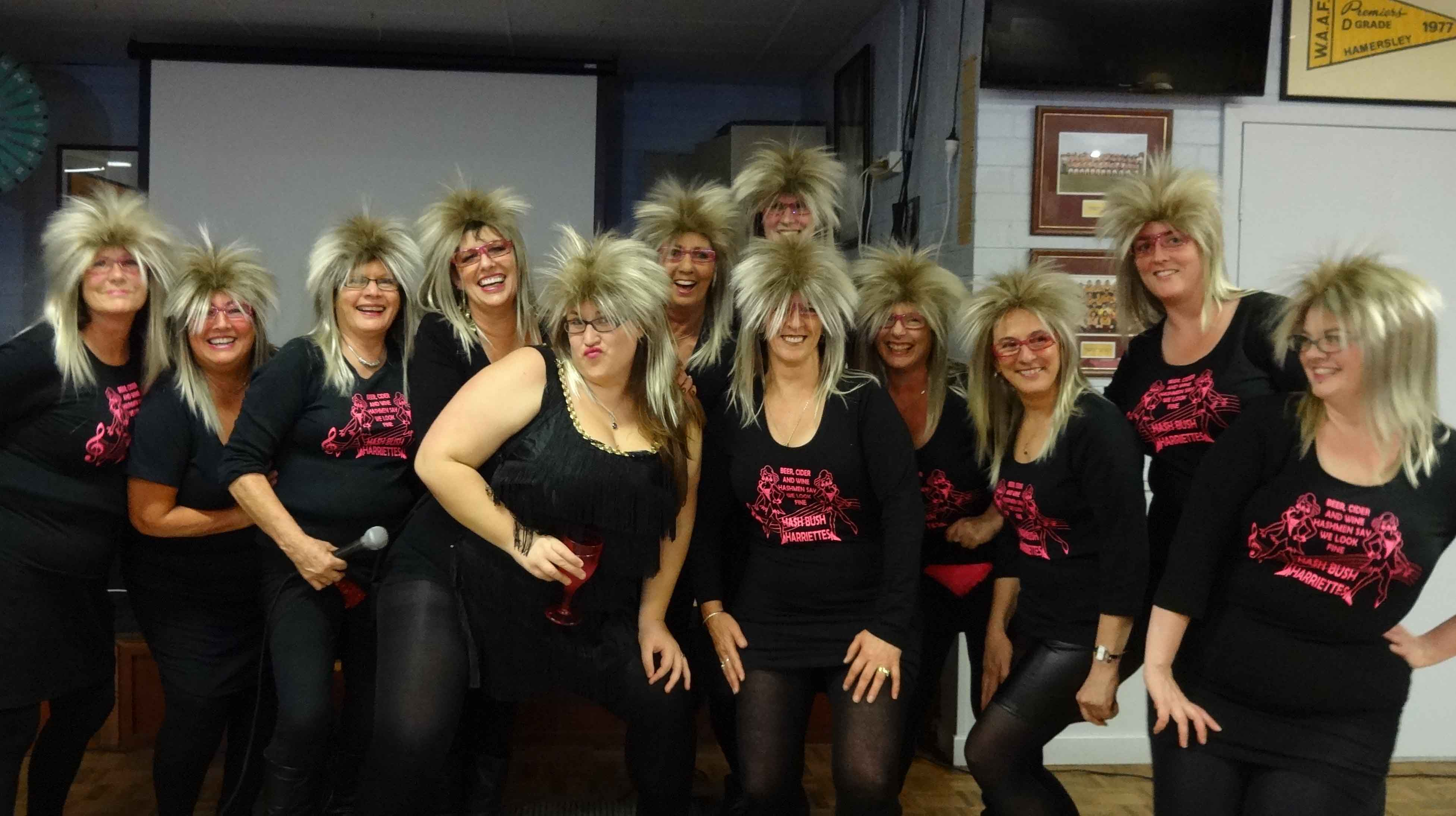 """AGM """"Come Dressed as a Song"""" Run according to Wombat, Cheapskate and Kebab"""