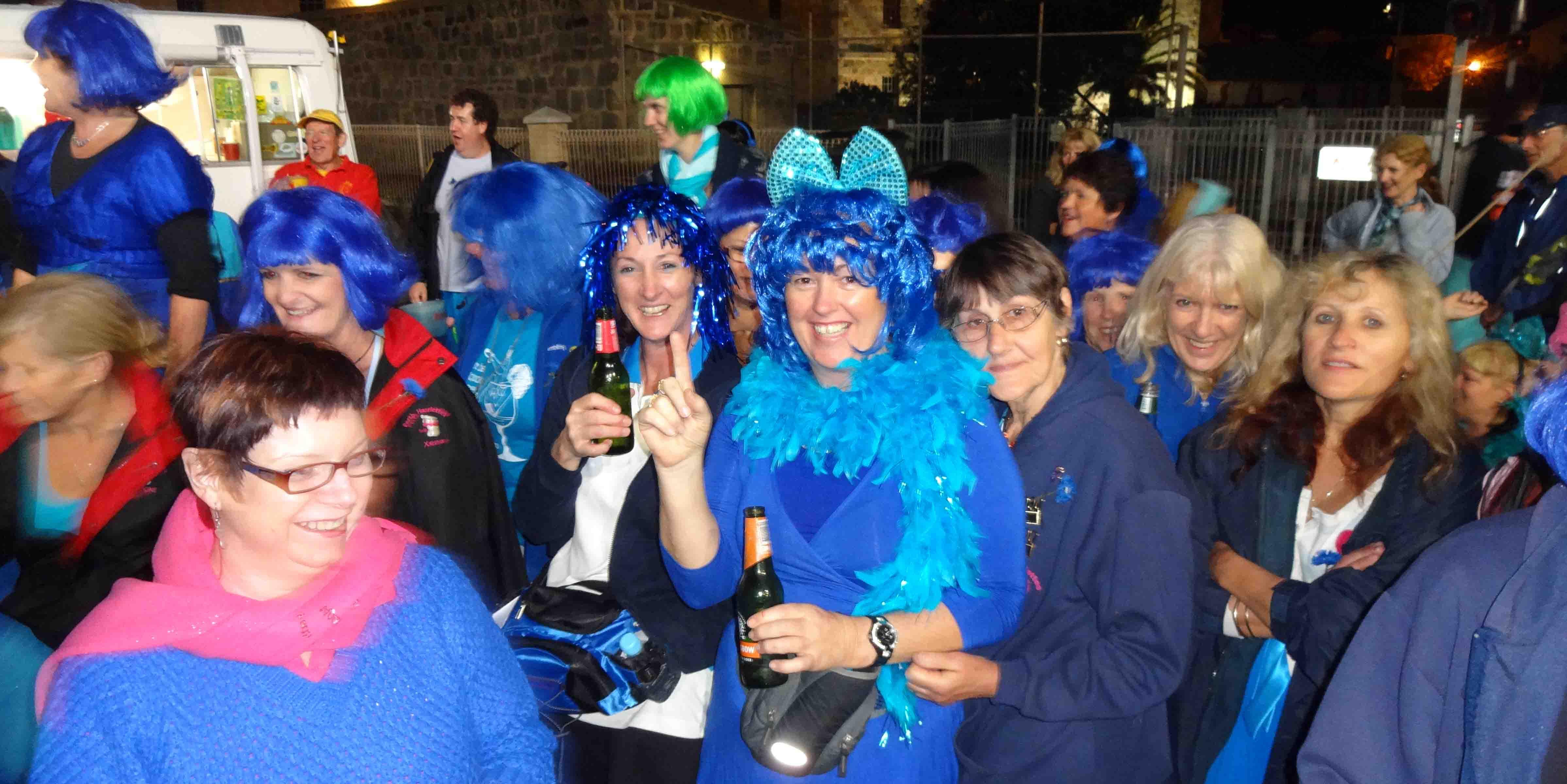 Blue Dress Run according to Wombat